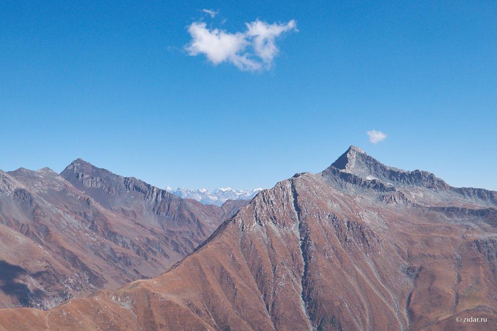 Забрались повыше в горы