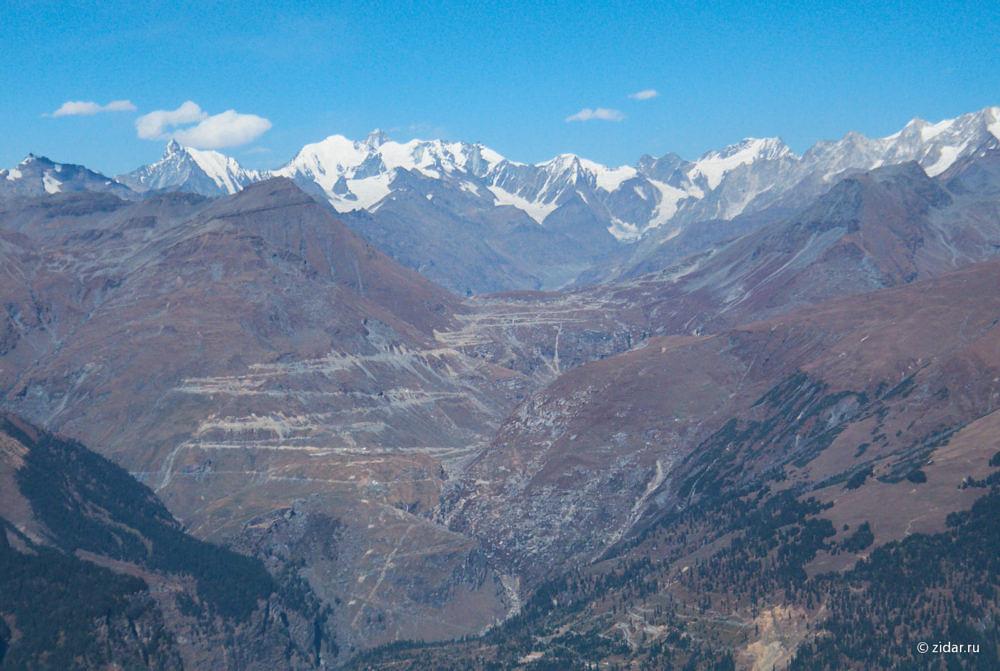 Знаменитый перевал Ротанг. Чуть-чуть не хватило времени и сил, чтобы до него долететь